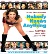 affiche NOBODY KNOWS ANYTHING