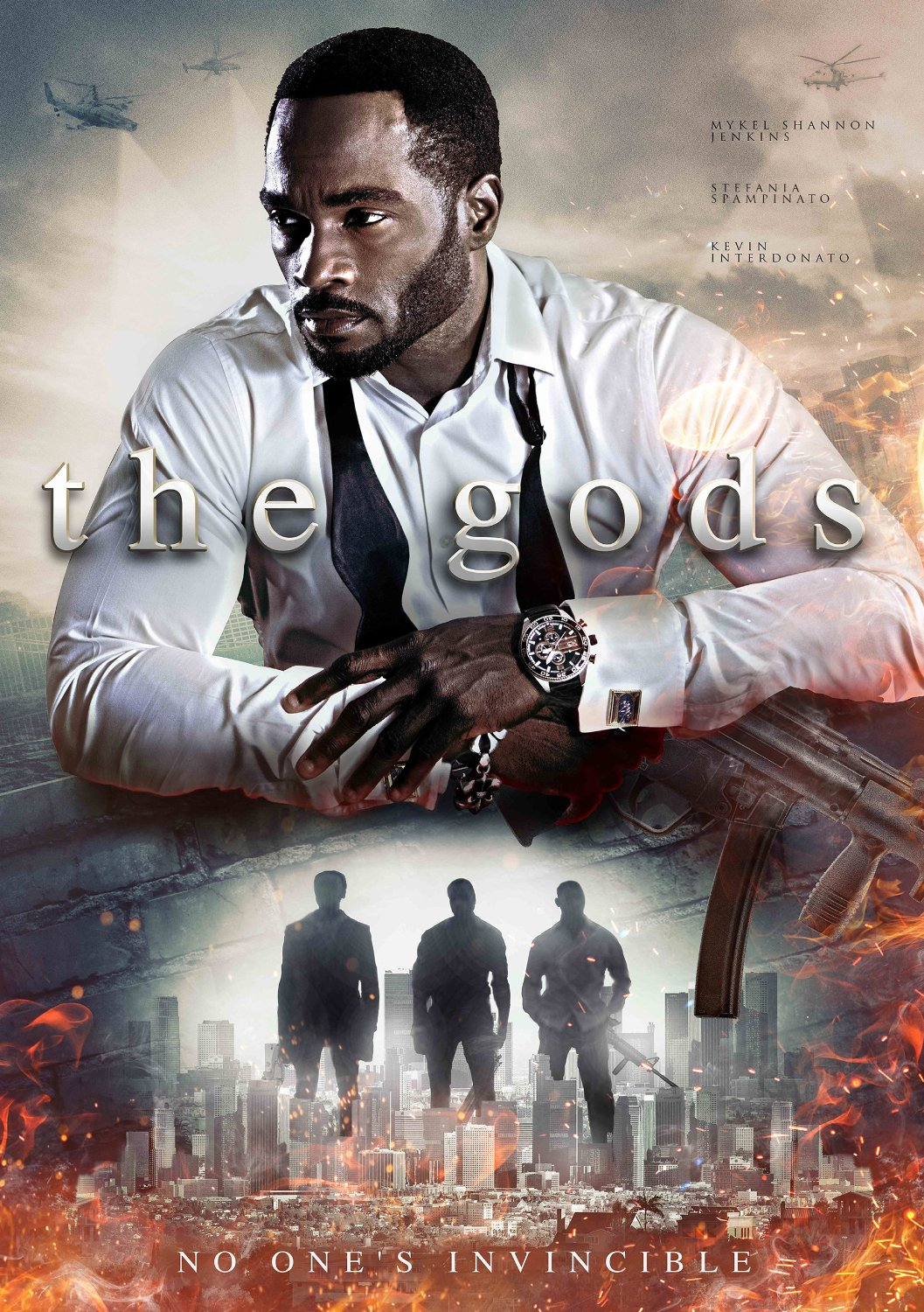 affiche THE GODS